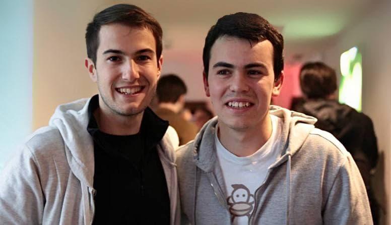 Luis Ivan Cuende and Jorge Izquierdo
