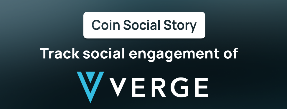 Track XVG on CoinSocialStory